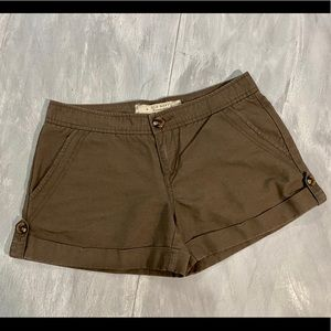 Old Navy Lowest Rise Cuffed Shorts SZ 2
